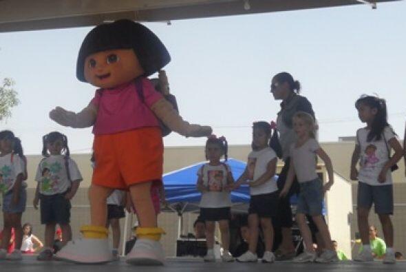¡Todos se emocionaron muchísimo al verla en el escenario!