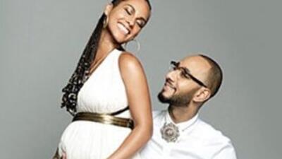 Alicia Keys and Swizz
