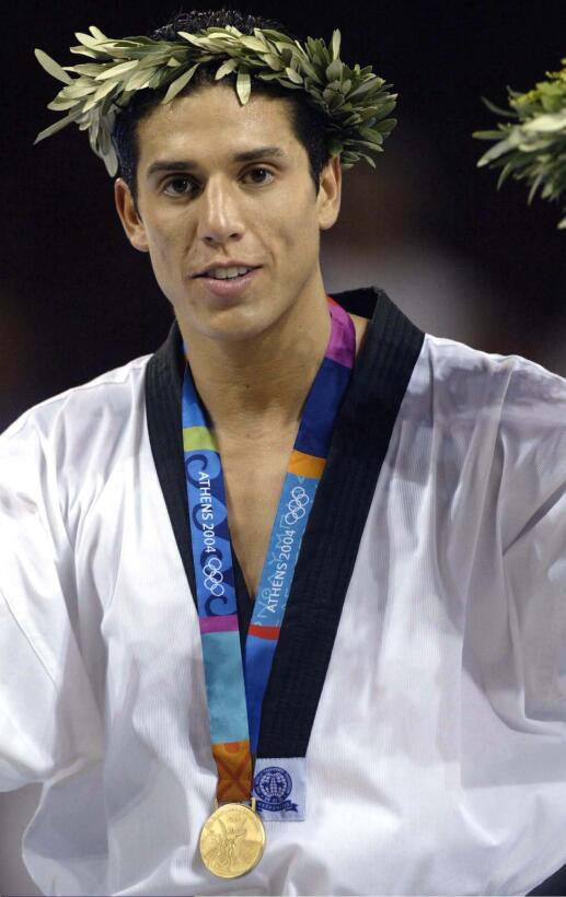 Steven López (Estados Unidos) - el taekwondista, de origen nicaragüense,...