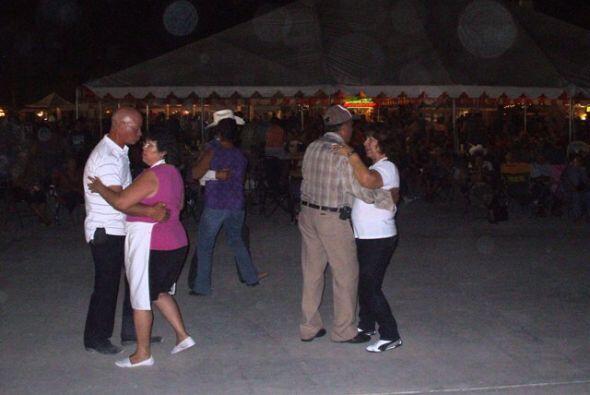Nos acompaño la tradicional música texana a cargo de Tony y sus Friends.