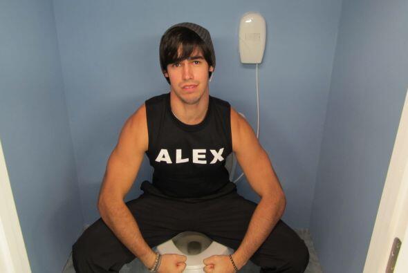 Alex nos mostró su fuerza desde un lugar poco atractivo.