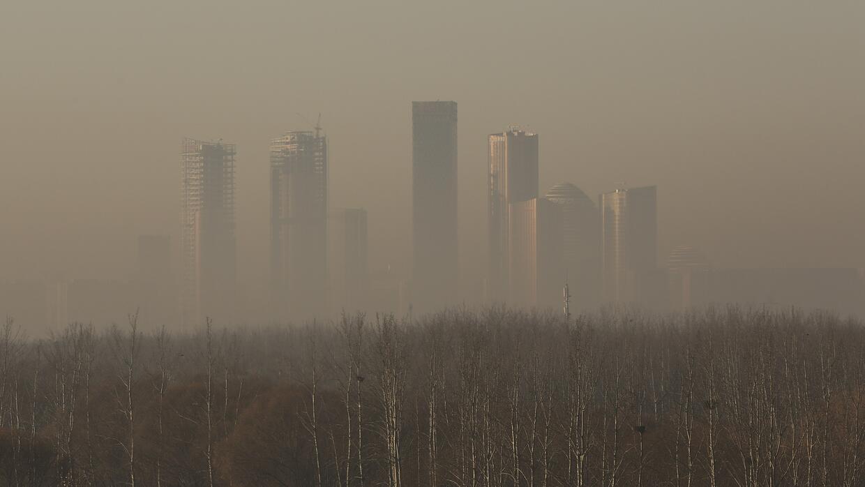 China sigue construyendo vecindarios y ciudades. En la foto, Pekín en un...