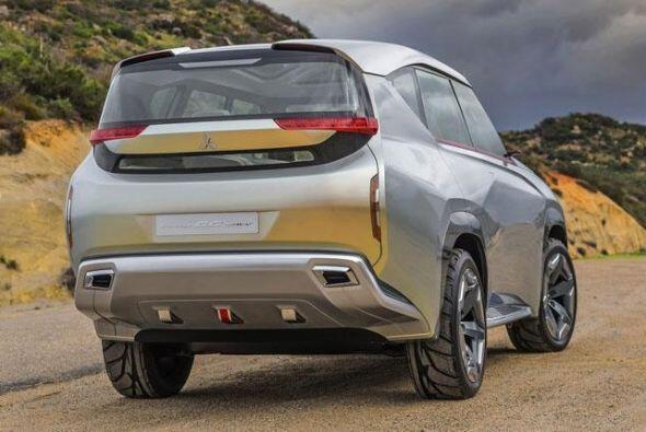 Mitsubishi GC-PHEV: Posee un motor V6 de 3.0 litros sobrealimentado que...