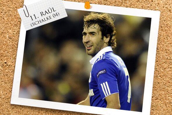Cerramos nuestro once con un crack de lujo, el español Raúl González.