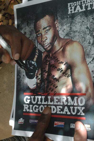 'Peleando por Haití' presentará dos peleas de campeonato mundial y a Rin...