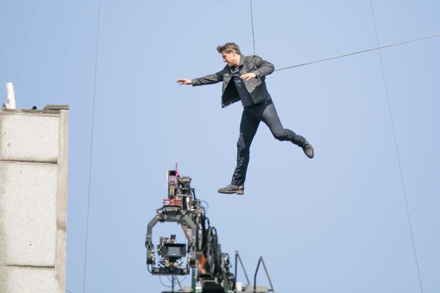 Tras el accidente, la filmación de 'Misión Imposible 6' quedó en...