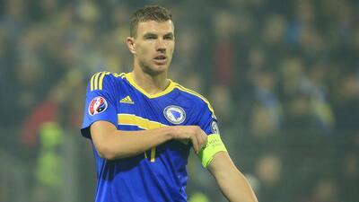 Dzeko no subestima la Nations League y asegura que es una oportunidad para brillar con Bosnia