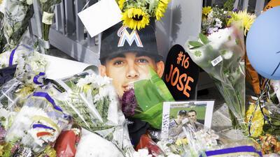 En fotos: Fanáticos y beisbolistas rinden homenaje a José Fernández el mismo día de su muerte