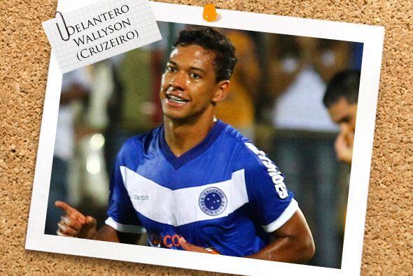 Wallyson es uno de las promesas que tiene el Cruzeiro.