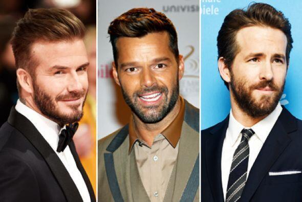 Ellos son famosos, guapos, talentosos y por sí fuera poco tienen los que...