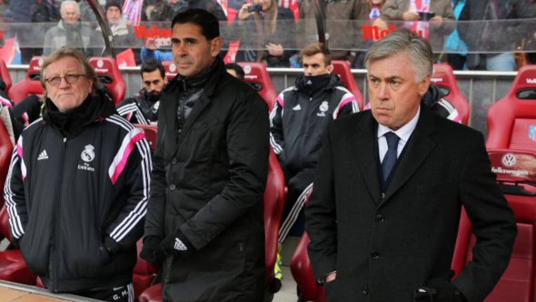 El técnico italiano del Real Madrid dijo que sus jugadores dieron el peo...