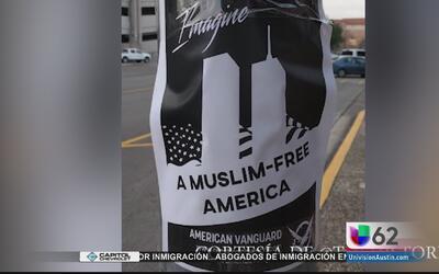 Volantes racistas aparecen en la Universidad de Texas