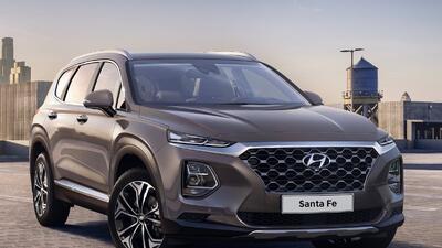 Hyundai comparte un abrebocas de la nueva Santa Fe 2019