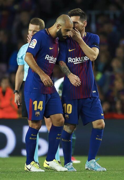 Faena de Messi en la goleada 6-1 del Barcelona sobre Eibar 6364146105898...