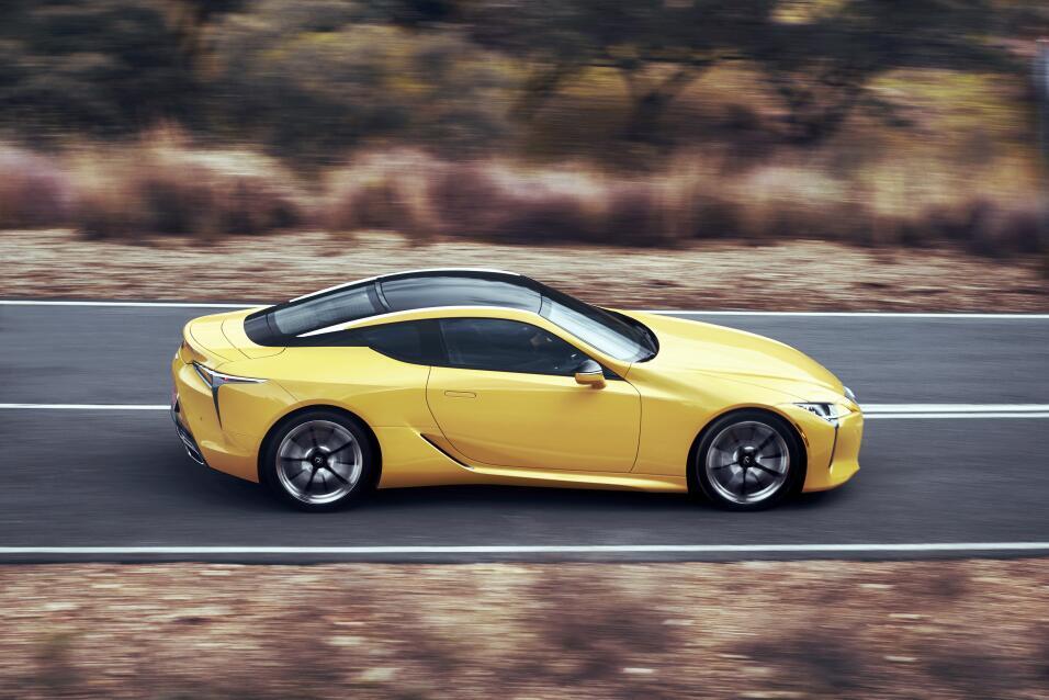 Este es el nuevo Lexus LC500