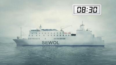 Así ocurrió el hundimiento del ferry de Corea del Sur