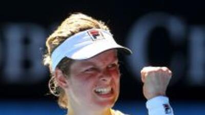 La belga venció a la número uno del mundo.