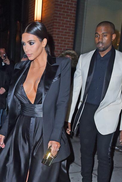 Kanye y Kim fueron a la fiesta de cumpleaños de un gran amigo.