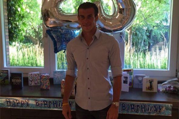 Gareth Bale festejó su cumpleaños hace apenas unos días y lo hizo compar...