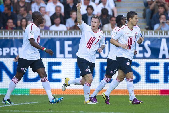 Y uno de los goles con los que el Lille sacó ese importante empate ante...