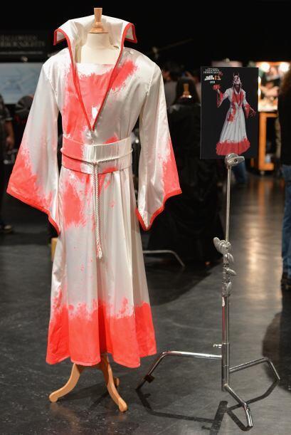 Aquí también se presentaron los vestuarios de las películas de terror qu...