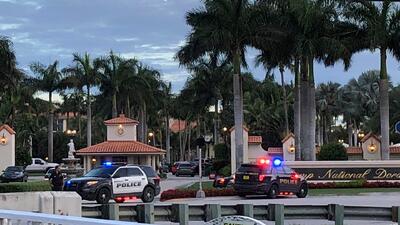 Revelan imágenes del tiroteo entre agentes y un hombre que ingresó armado al hotel de Trump en Doral