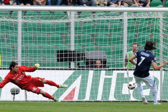 En otros de los partidos, Palermo se midió al duro Nápoli. El primero en...