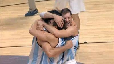 Argentina a los Olímpicos y manda a México al repechaje en el FIBA Américas