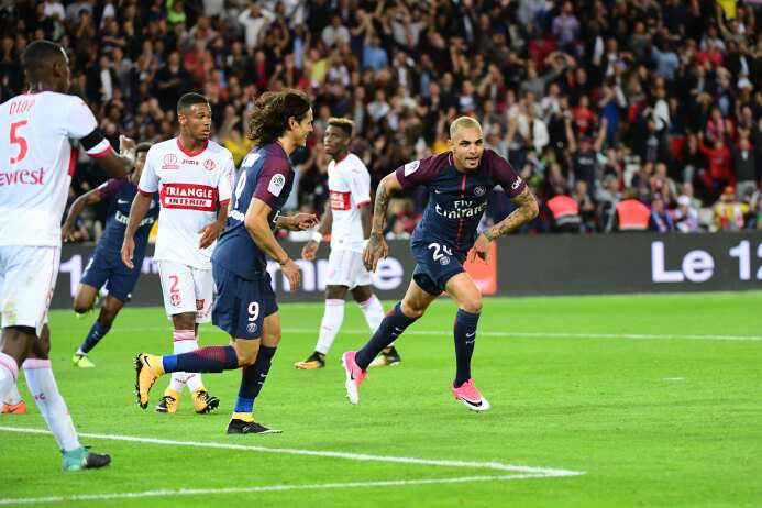 Kurzawa, ya con el Toulouse vencido, puso el 5-2 al minuto 84.