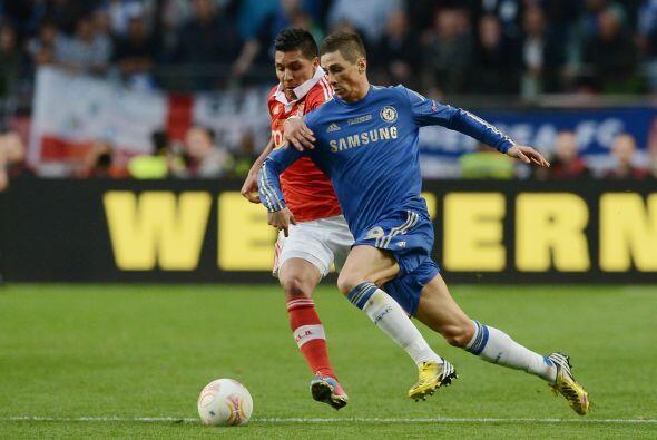 Fernando Torres fue el referente ofensivo de los 'Blues'.