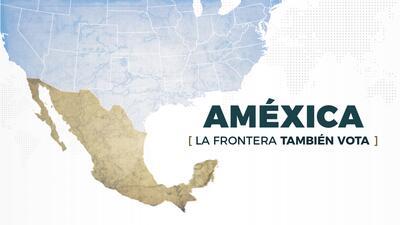 La frontera también vota: Así recorrimos las 1,989 millas que dividen EEUU y México