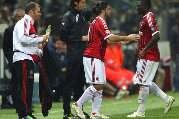 Y se produjo el tan ansiado momento, Gattuso volvió a jugar.