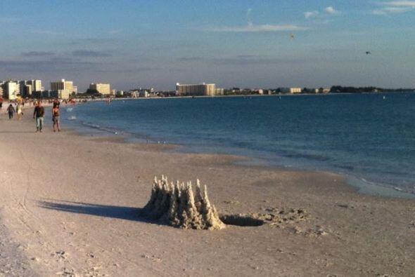 Los usuarios de  TripAdvisor  eligieron a  Siesta Key Beach  como la  me...