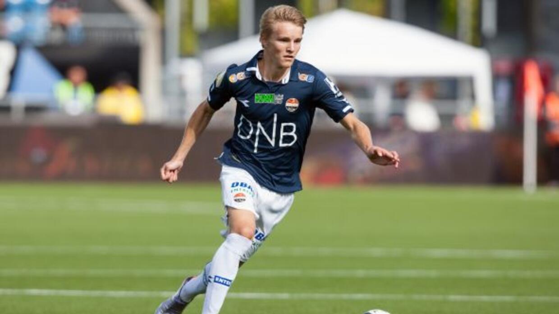 A sus 16 anos,Odegaard ya puede presumir de ser jugador del cuadro madr...