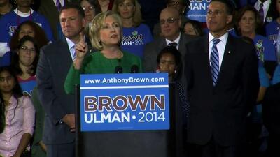 Dreamers interrumpen discurso de Hillary Clinton para pedir su apoyo a r...