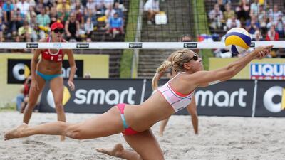 Marketa Slukova, la hermosa checa que sorprendió al mundo del voley playa