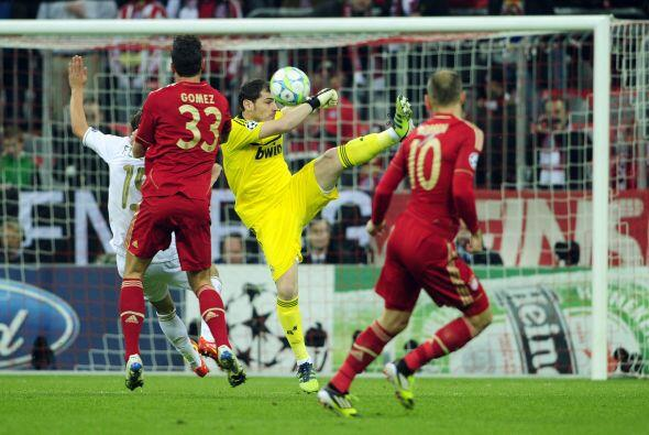Bayern fue el equipo que más atacaba e Iker Casillas tuvo que estar aten...