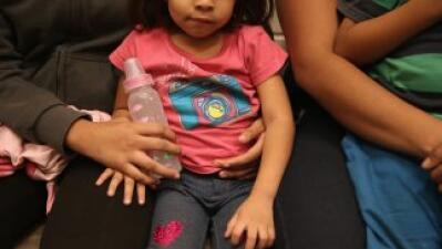 Niños de la frontera.