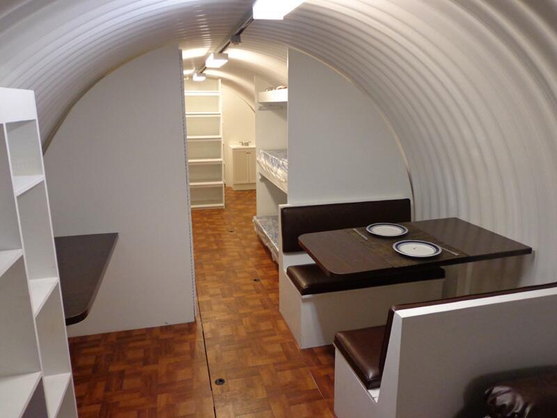 En fotos: Cómo son los refugios subterráneos para sobrevivir a un ataque...