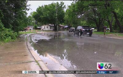 Alertan sobre varias calles inundadas en San Marcos