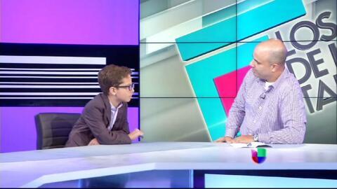 André entrevista a Hector Ferrer