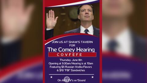 Bar en Washington ofrece un servicio especial para los espectadores del...