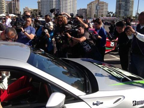 Varios periodistas y fotógrafos se reunieron en Los Ángele...