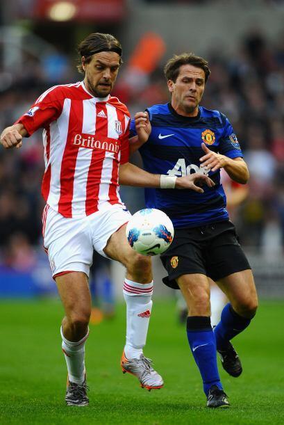 Pero el local, Stoke City, quería dar la sorpresa y se fue al ataque.
