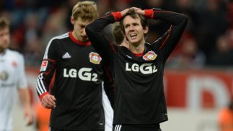 El Leverkusen no pudo sumar en su visita al campo del Eintracht.
