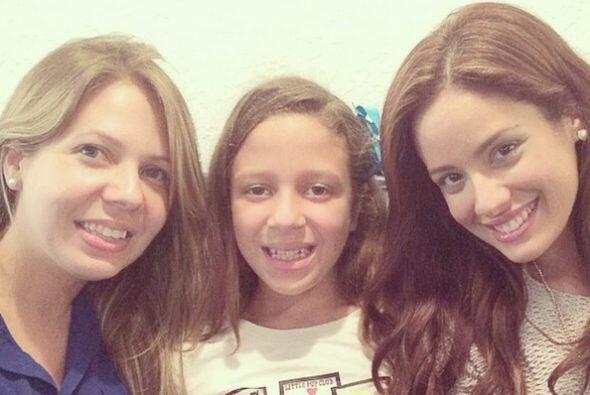Este sábado, Aleyda se reunió con su familia. Fue un momento muy emotivo...