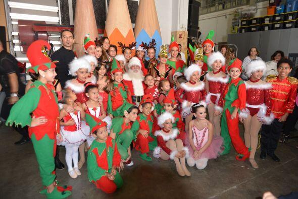 Fue un momento muy divertido y especial para todos los pequeños.