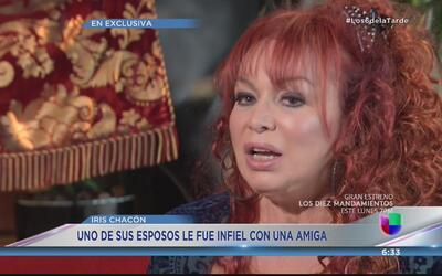Iris Chacón confiesa cosa que jamás imaginaste de su vida