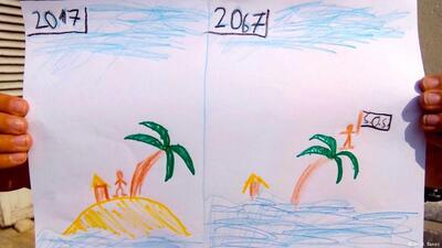 ¿Cómo será el planeta en 50 años? Niños y niñas del mundo responden con dibujos