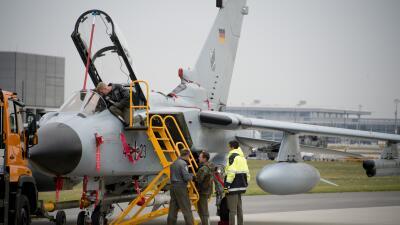 Aviones de reconocimiento Tornados, de Alemania